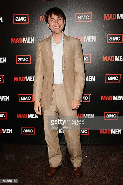 Actor Vincent Kartheiser attends the 3rd season premiere of Mad Men at the Directors Guild Theatre on August 3 2009 in West Hollywood California