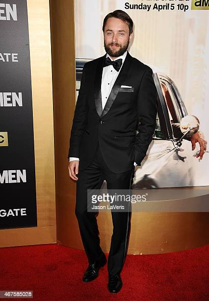 Actor Vincent Kartheiser attends the 'Mad Men' Black Red Ball at Dorothy Chandler Pavilion on March 25 2015 in Los Angeles California