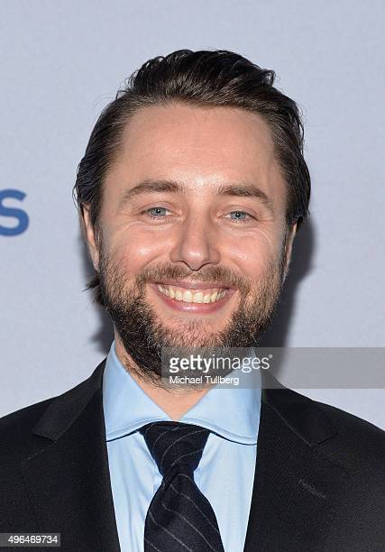 Actor Vincent Kartheiser attends the premiere of National Geographic Channel's Saints And Strangers at Saban Theatre on November 9 2015 in Beverly...