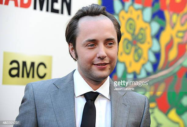 Actor Vincent Kartheiser attends the season 7 premiere of Mad Men at ArcLight Cinemas on April 2 2014 in Hollywood California