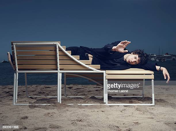 Actor Vincent Lacoste is photographed for Self Assignment on May 17 2014 in Cannes France
