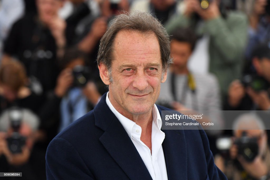 Actor Vincent Lindon attends 'In War (En Guerre)' Photocall during the 71st annual Cannes Film Festival at Palais des Festivals on May 16, 2018 in Cannes, France.