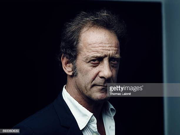 Actor Vincent Lindon is photographed for Self Assignment on May 21 2013 in Paris France
