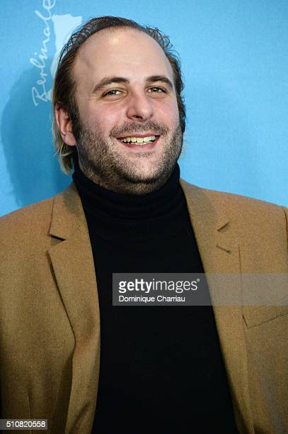 Actor Vincent Macaigne attends the 'News from Planet Mars' photo call during the 66th Berlinale International Film Festival Berlin at Grand Hyatt...