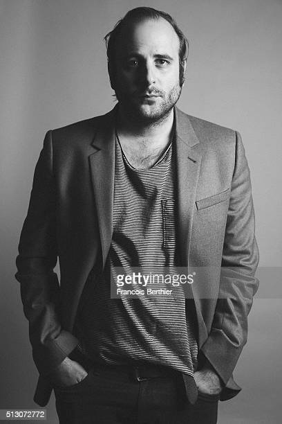 Actor Vincent Macaigne is photographed for Self Assignment on February 19 2016 in Berlin Germany