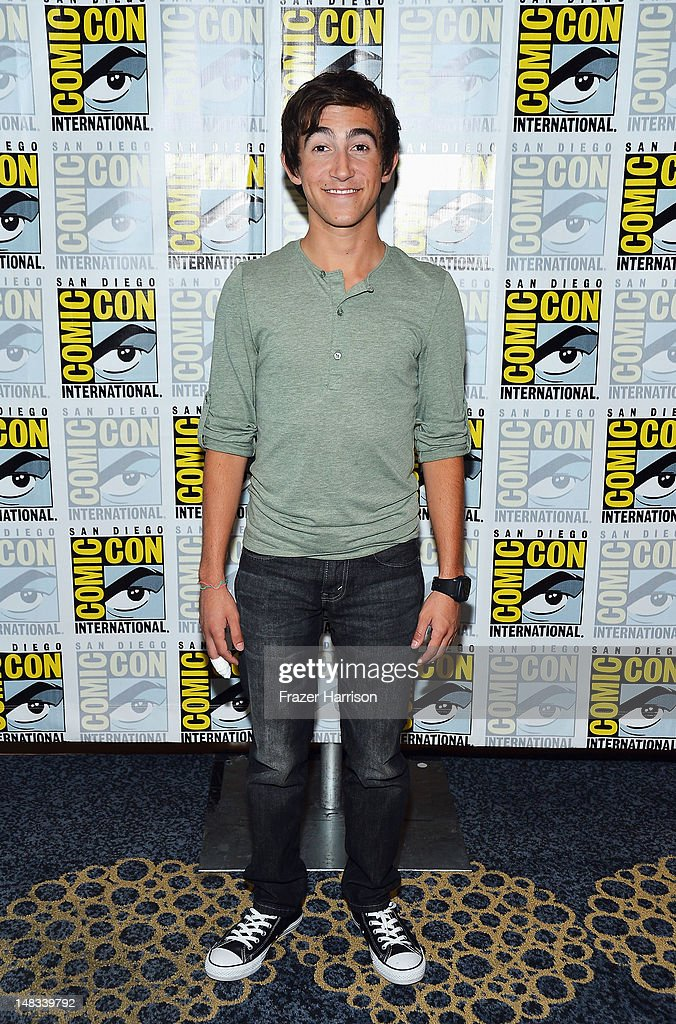 Actor Vincent Martella attends Disney's 'Phineas And Ferb' 'Gravity Falls' and 'Fish Hooks' Press Room during Comic-Con International 2012 at Hilton San Diego Bayfront Hotel on July 14, 2012 in San Diego, California.
