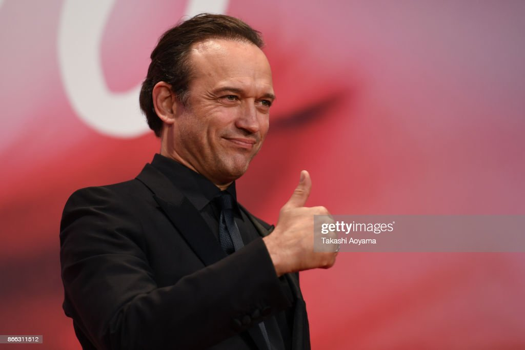 Actor Vincent Perez attends the red carpet of the 30th Tokyo International Film Festival at Roppongi Hills on October 25, 2017 in Tokyo, Japan.