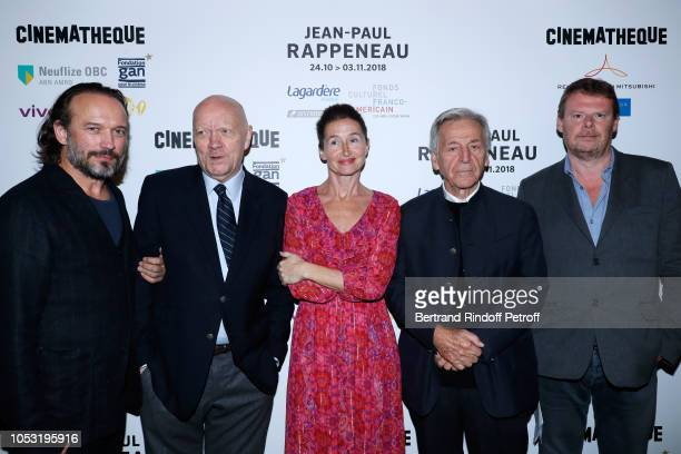 Actor Vincent Perez Director JeanPaul Rappeneau actress Anne Brochet President of Cinematheque Francaise Constantin CostaGavras and General Director...