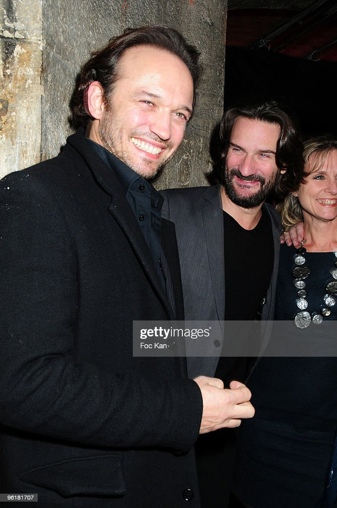b3dbbd73 Actor Vincent Perez, TV host/writer Frederic Beigbeder and a guest ...