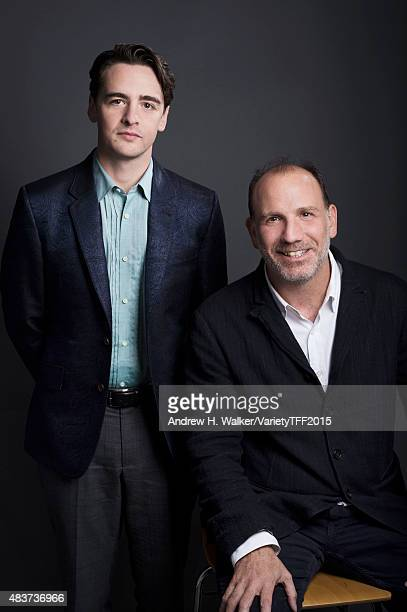 Actor Vincent Piazza and writer/director Nick Sandow are photographed for Variety at the Tribeca Film Festival on April 17 2015 in New York City