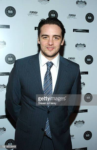 Actor Vincent Piazza attends A Midwinter Night's Dream charity fundraiser at Oheka Castle on January 6 2011 in Huntington New York