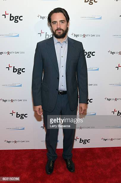 Actor Vincent Piazza attends Annual Charity Day hosted by Cantor Fitzgerald BGC and GFI at BGC Partners INC on September 12 2016 in New York City