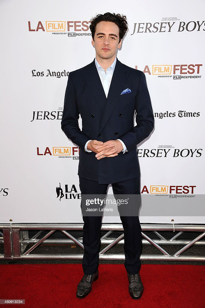 Actor Vincent Piazza attends the 2014 Los Angeles Film Festival closing night film premiere of 'Jersey Boys' at Premiere House on June 19, 2014 in Los Angeles, California.