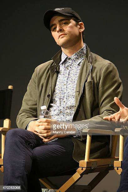 Actor Vincent Piazza attends the Apple Store Soho Presents 'The Wannabe' during the Tribeca Film Festival at Apple Store Soho on April 18 2015 in New...