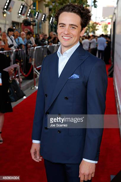Actor Vincent Piazza attends the closing night film premiere of 'Jersey Boys' during the 2014 Los Angeles Film Festival at Premiere House on June 19...