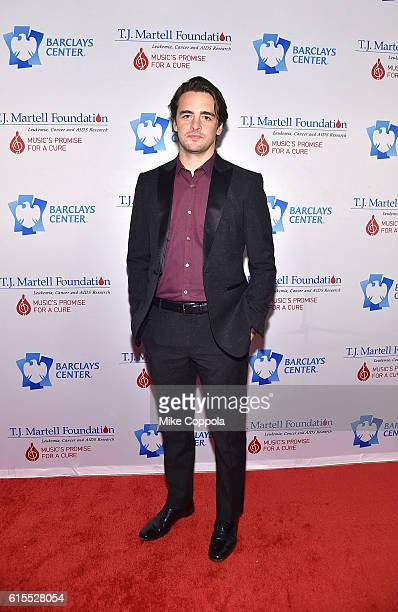 Actor Vincent Piazza attends TJ Martell Foundation's 41st Annual Honors Gala at Gustavino's on October 18 2016 in New York City