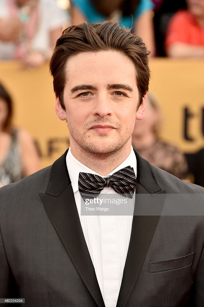 Actor Vincent Piazza attends TNT's 21st Annual Screen Actors Guild Awards at The Shrine Auditorium on January 25, 2015 in Los Angeles, California. 25184_018