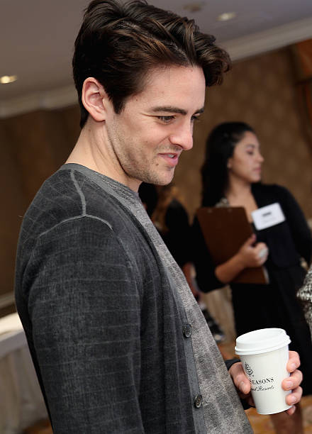 5f749bf3870be Actor Vincent Piazza visits the Solstice Sunglasses fitting station during  the HBO Luxury Lounge in honor