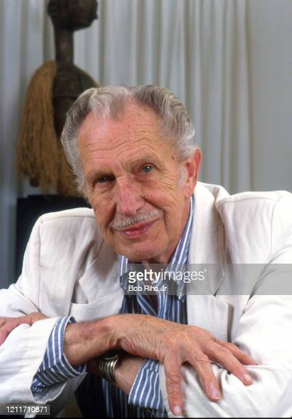 Actor Vincent Price at his home July 1, 1987 in Los Angeles, California.