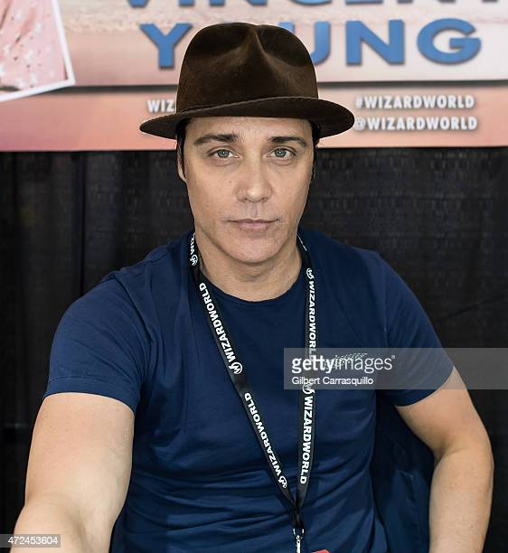 Actor Vincent Young attends day 1 of Wizard World Comic Con at Pennsylvania Convention Center on May 7 2015 in Philadelphia Pennsylvania