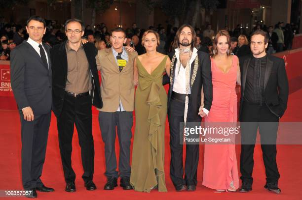 Actor Vincenzo Amato director Valerio Jalongo actor Fulvio Forti actress Valeria Golino Francesco Sarcina actress Antonella Ponziani and Alessandro...