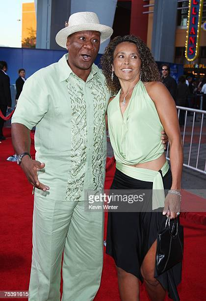 Actor Ving Rhames and his wife Deborah arrive at the premiere of Universal's I Now Pronounce You Chuck and Larry at the Gibson Amphitheatre and...