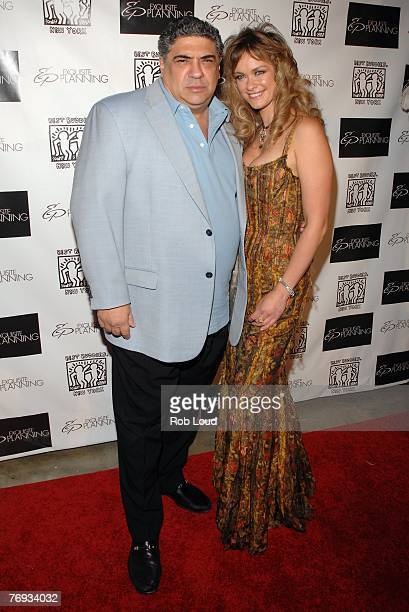 Actor Vinnie Pastore and Exquisite Planning founder Natalia Sokolova poses at the launch of Exquisite Planning at Prince George Ballroom on Septmeber...