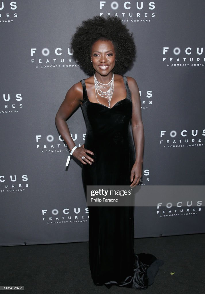 Actor Viola Davis attends Focus Features Golden Globe Awards After Party on January 7, 2018 in Beverly Hills, California.