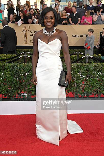 Actor Viola Davis attends The 23rd Annual Screen Actors Guild Awards at The Shrine Auditorium on January 29 2017 in Los Angeles California 26592_008