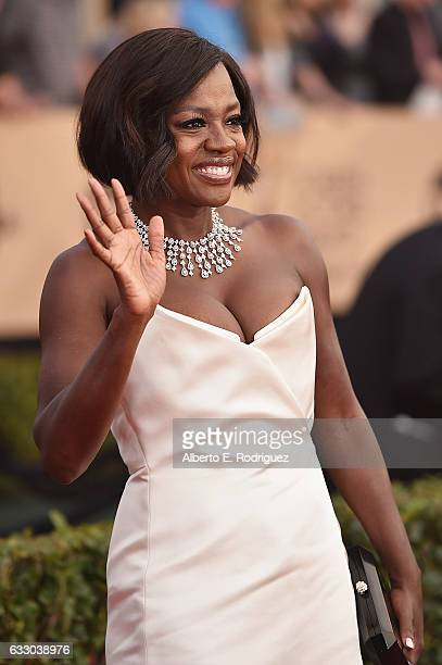 Actor Viola Davis attends the 23rd Annual Screen Actors Guild Awards at The Shrine Expo Hall on January 29 2017 in Los Angeles California