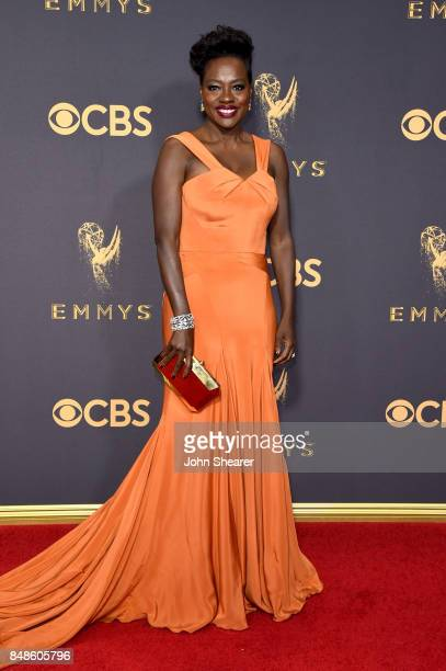 Actor Viola Davis attends the 69th Annual Primetime Emmy Awards at Microsoft Theater on September 17 2017 in Los Angeles California