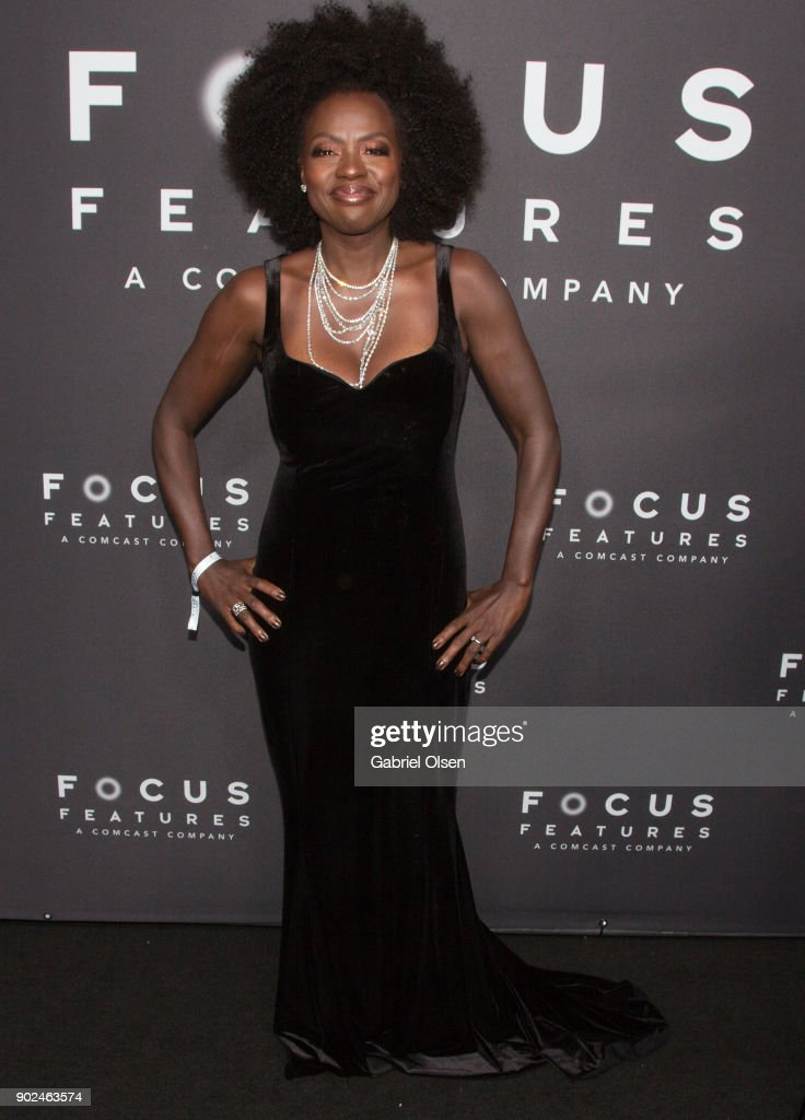 Actor Viola Davis attends the Focus Features Golden Globe Awards After Party on January 7, 2018 in Beverly Hills, California.