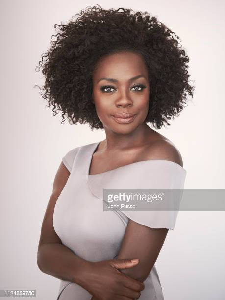 Actor Viola Davis is photographed for 20th Century Fox on July 9, 2018 in New York City, United States.
