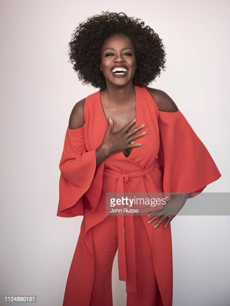 Actor Viola Davis is photographed for 20th Century Fox on July 9 2018 in New York City United States