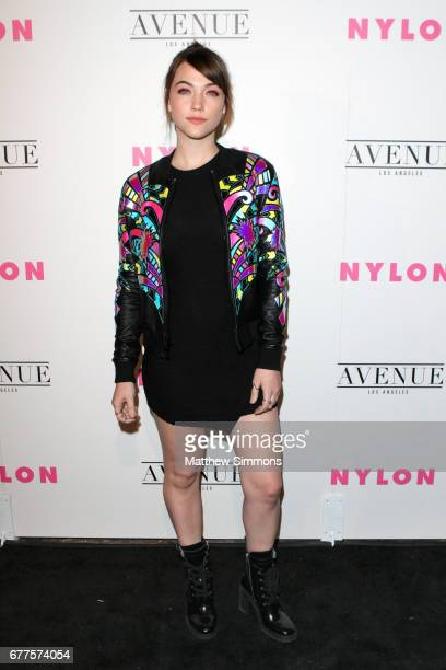 Actor Violett Beane attends NYLON's Annual Young Hollywood May Issue Event at Avenue on May 2 2017 in Los Angeles California