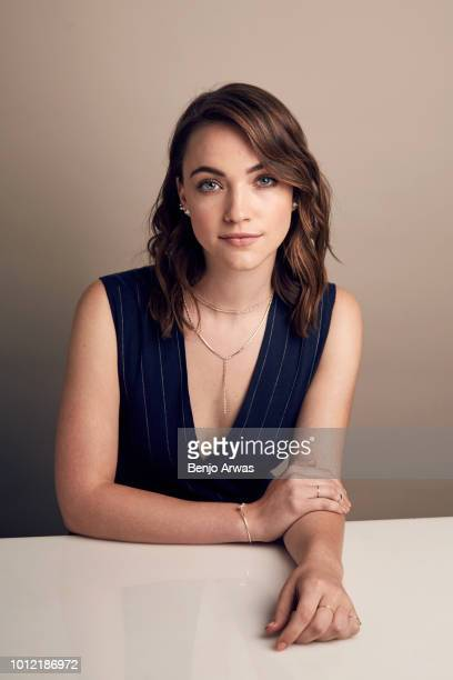 Actor Violett Beane of CBS's 'God Friended Me' poses for a portrait during the 2018 Summer Television Critics Association Press Tour at The Beverly...