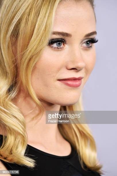 Actor Virginia Gardner attends 19th Annual PostGolden Globes Party hosted by Warner Bros Pictures and InStyle at The Beverly Hilton Hotel on January...