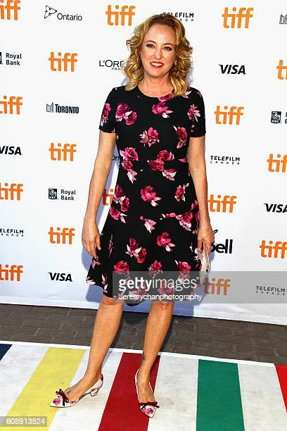 Actor Virginia Madsen attends the 'Burn Your Maps' premiere held at Ryerson Theatre during the Toronto International Film Festival on September 15...