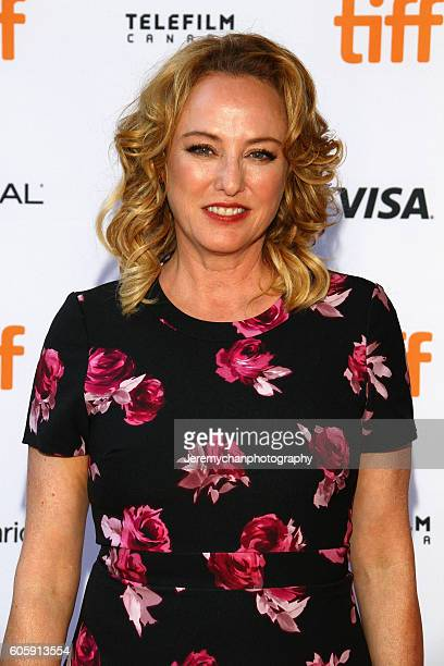 Actor Virginia Madsen attends the Burn Your Maps premiere held at Ryerson Theatre during the Toronto International Film Festival on September 15 2016...