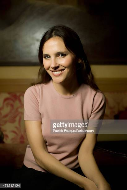Actor Virginie Ledoyen is photographed for Paris Match on March 7 2012 in Paris France