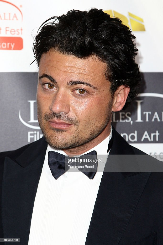 Actor Vittorio Grigolo attends the Los Angeles Italia Opening Gala held at the TCL Chinese 6 Theatres on February 15, 2015 in Hollywood, California.