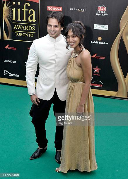 Actor Vivek Oberoi attends the IIFA Fashion Rocks green party at the Heritage Court Exhibition Place on June 24 2011 in Toronto Canada