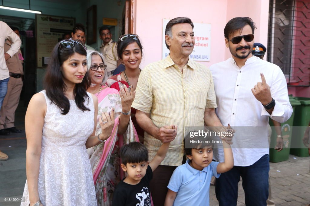 Vivek Oberoi Family