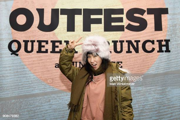 Actor Vivian Bang attends Outfest Queer Brunch at Sundance Presented By DIRECTV NOW and ATT Hello Lab during the 2018 Sundance Film Festival at Grub...