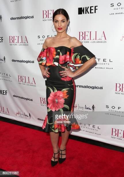 Actor Vlada Verevko attends the BELLA Los Angeles Summer Issue Cover Launch Party at Sofitel Los Angeles At Beverly Hills on June 23 2017 in Los...