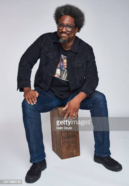 Actor W Kamau Bell of CNN's Anthony Bourdain Parts Unknown poses for a portrait during the 2018 Tribeca TV Festival on September 22 2018 in New York...