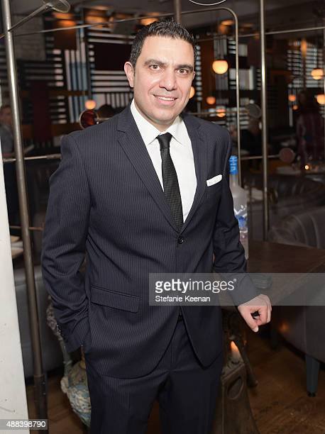 Actor Wadih Dona attends the Septembers of Shiraz TIFF Party Hosted By GREY GOOSE Vodka at Byblos on September 15 2015 in Toronto Canada