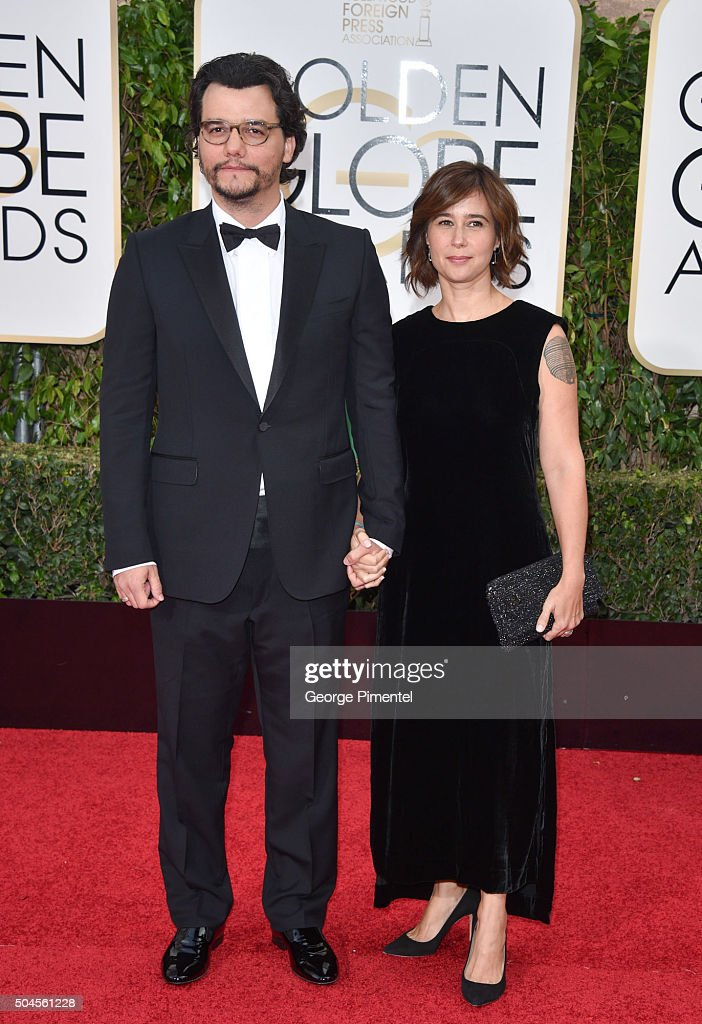 Actor Wagner Moura and Sandra Delgado attends the 73rd
