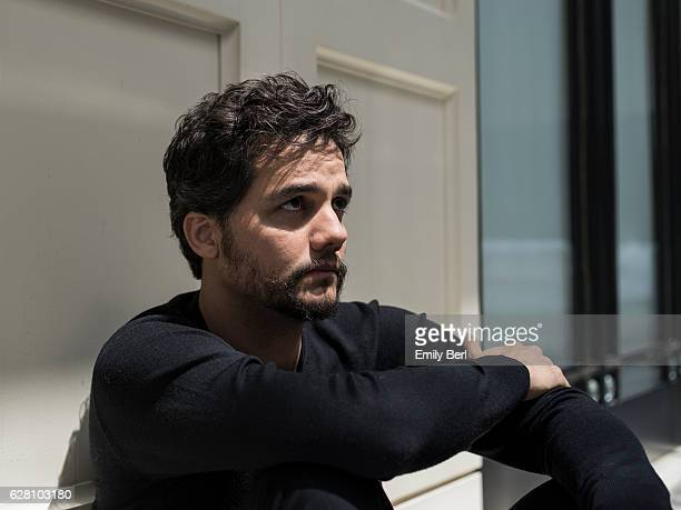 Actor Wagner Moura is photographed for New York Magazine on August 24 2016 in Los Angeles California