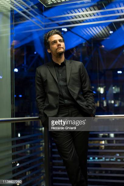 Actor Wagner Moura poses for a portrait during the 69th Berlinale International Film Festival on February 8 2019 in Berlin Germany